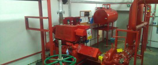 Przegląd instalacji tryskaczowej Centrum Handlowe Turawa Park